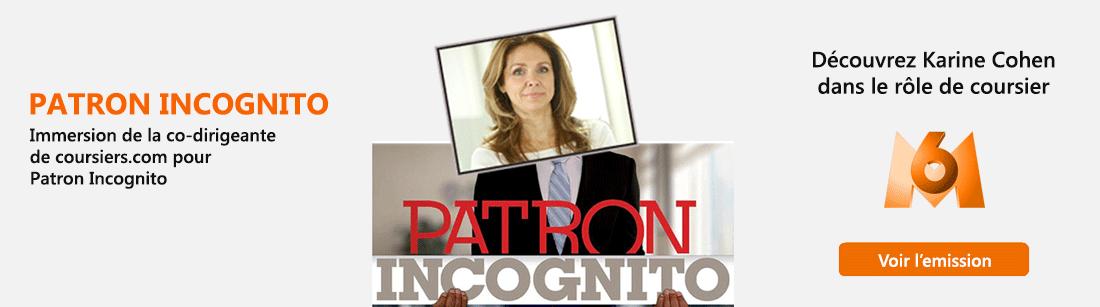 Patron Incognito Karine Cohen