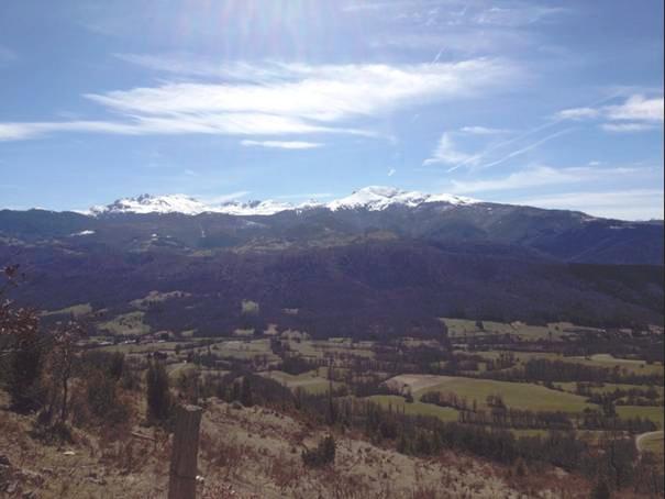 trail des Cascades